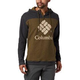 Columbia Lodge French Terry Huppari Miehet, new olive heather/shark heather